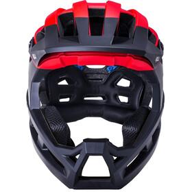 Kali Invader 2.0 SLD Helmet, negro/rojo